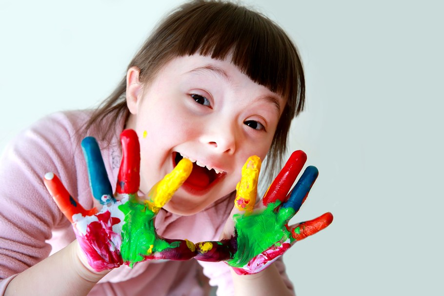 Síndrome de Down: a emoção e a ingenuidade de uma criança - bernadetealves.com