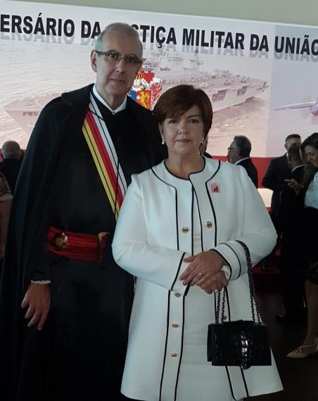 Ministro Dr. José Barroso e a esposa Marta Foltz