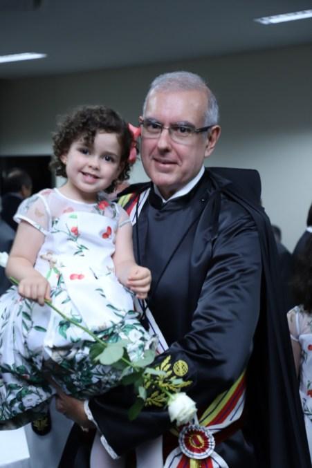 Ministro José Barroso Filho com a princesa Alice