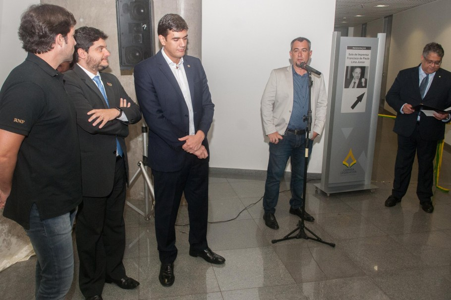Câmara Legislativa inaugura Comitê de Imprensa - Bernadete Alves