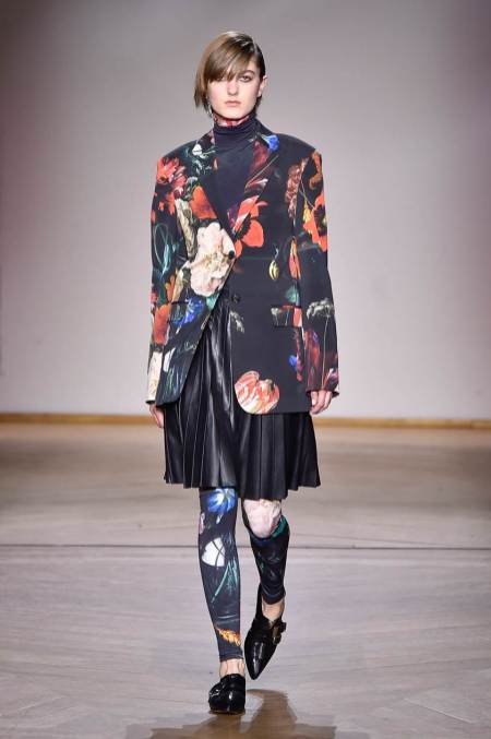 Legging Paul Smith, na Paris Fashion Week 2019/2020