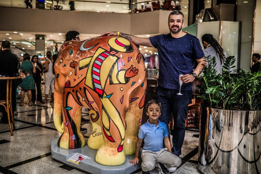 Elephant Parade - ParkShopping Brasília - Bernadete Alves