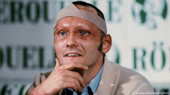 Niki Lauda, a lenda da F1 - Bernadete Alves