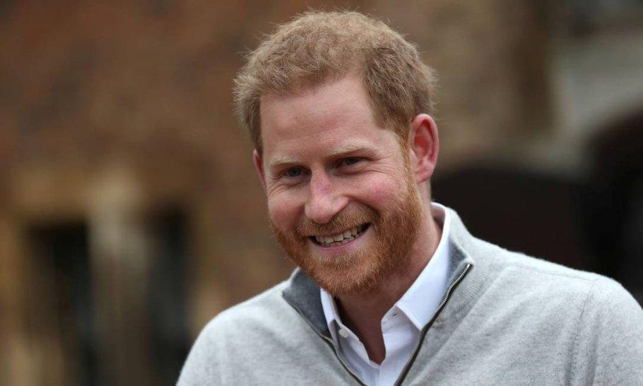 Principe Harry é pai de um menino - Bernadete Alves