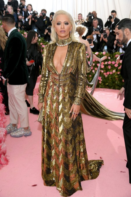 Rita Ora no Met Gala 2019