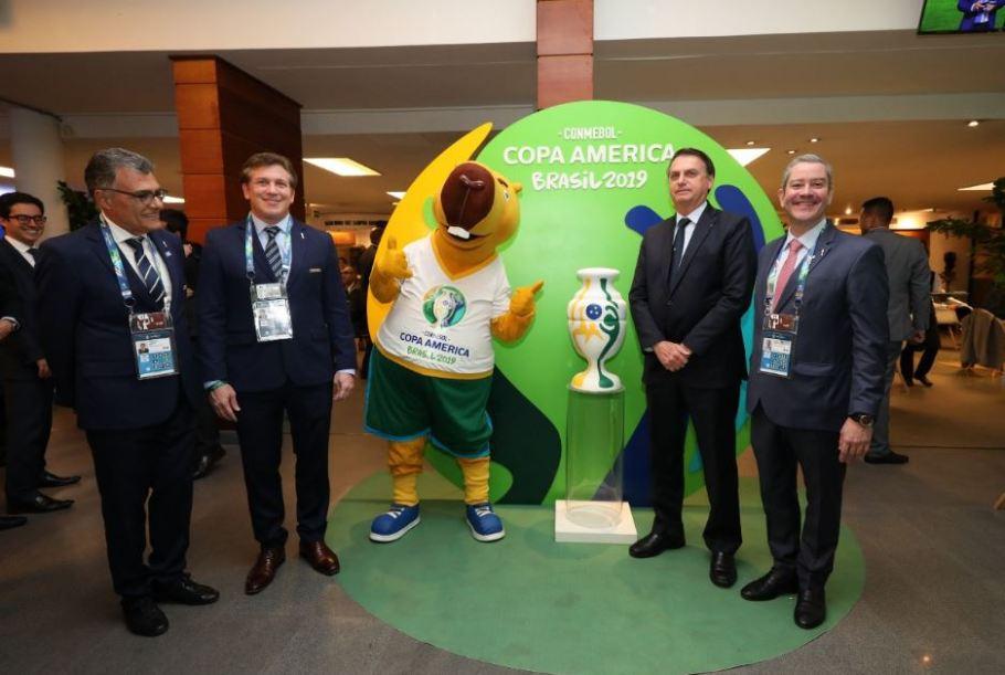 Abertura Copa América 2019 - Morumbi- Brasil e Bolívia - Bolsonaro - Bernadete Alves