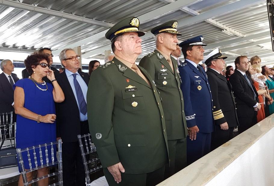 Almirante Celso Luiz Nazareth assume o Estado-Maior da Armada - Bernadete Alves