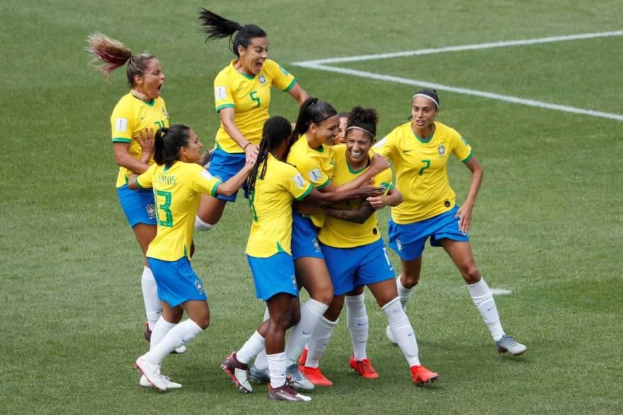 Brasil vence Jamaica com 3 gols de Cristiane - Copa do Mundo França 2019 Bernadete Alves