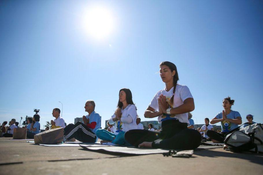 Dia Internacional do Yoga - Brasília - Bernadete Alves