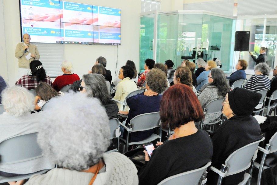 GDF fortalece com cidadania a situação do Idoso no Distrito Federal - Bernadete Alves