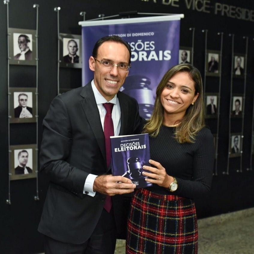 Jackson Domenico - livro - Decisões Eleitorais - TRE-DF - Bernadete Alves