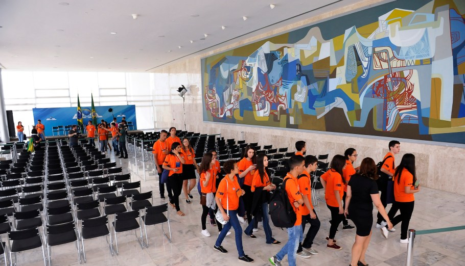 Obra de Burle Marx em Brasília - Bernadete Alves