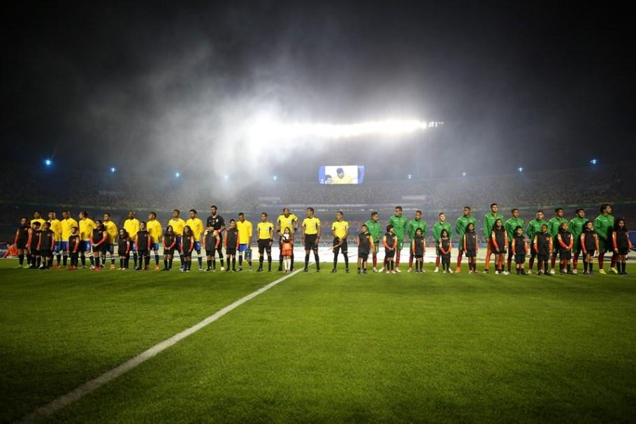 Abertura Copa América 2019 - Morumbi- Brasil e Bolívia - Bernadete Alves