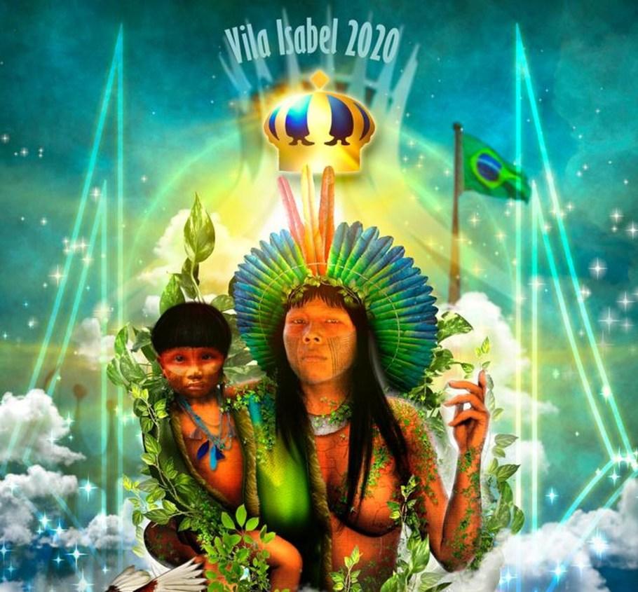 Brasília vira lenda indígena no enredo da Vila Isabel para Carnaval 2020 - Bernadete Alves