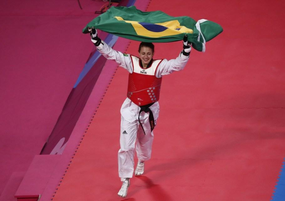 Brasil conquista dois ouros no Taekwondo no Pan 2019 - Bernadete Alves