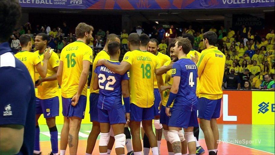 Brasil vence a Itália e é lider na Liga das Nações masculina - Bernadete Alves