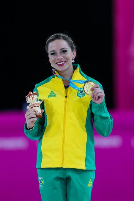 Bruna Wurts, ouro na patinação artística no Pan 2019