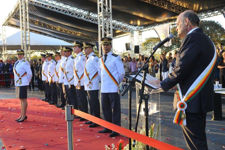Comando da PMDF entrega Medalha Tiradentes -Bernadete Alves