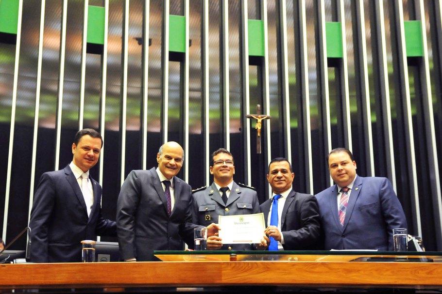 Dia do Bombeiro é comemorado em Sessão Solene na Câmara - Bernadete Alves 002