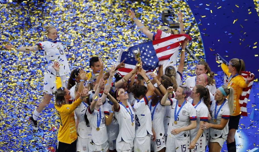 Estados Unidos vencem Holanda e é tetra da Copa do Mundo feminina  - Bernadete Alves