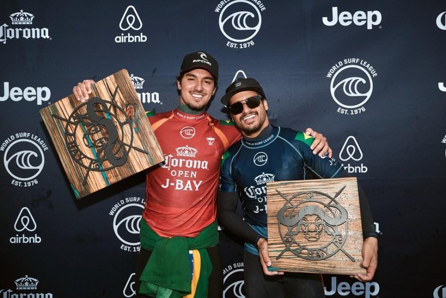 Gabriel Medina vence etapa de Jeffreys Bay da WSL- Bernadete Alves