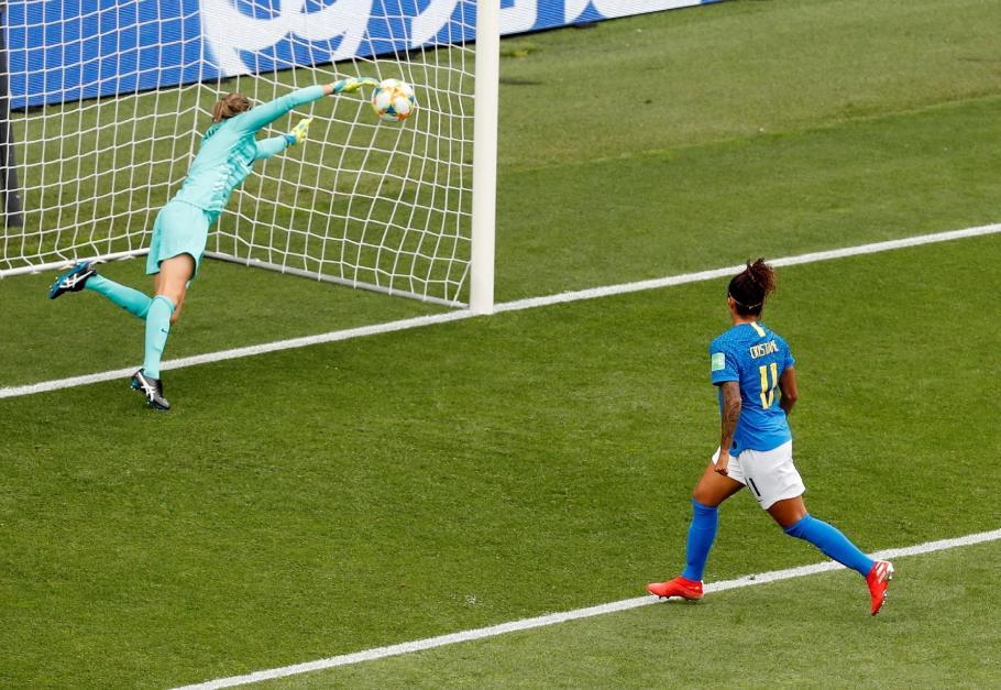 Gol mais bonito na Copa do Mundo feminina na França é do Brasil - Bernadete Alves
