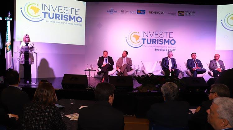 Investe Turismo realiza Seminário em Brasília - Bernadete Alves
