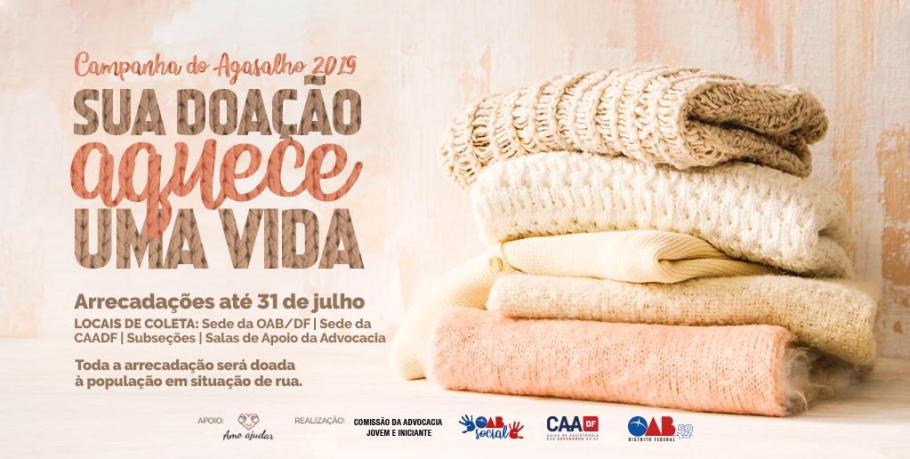 Solidariedade da OAB-DF aquece pessoas - Bernadete Alves