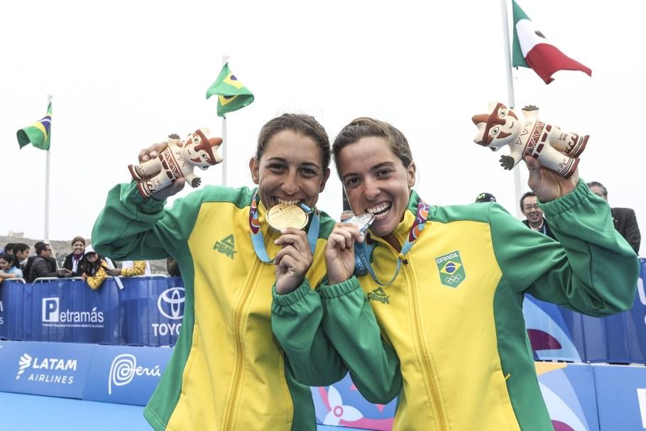 Triatlo feminino dá 1º ouro ao Brasil no Pan 2019 -  Bernadete Alves