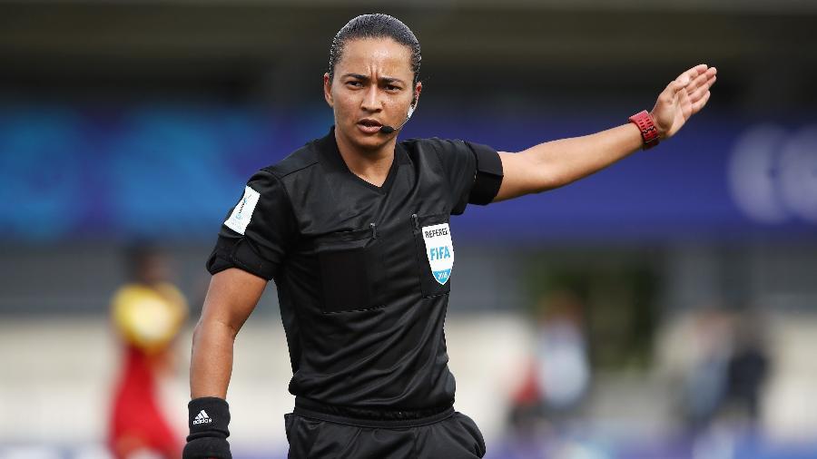 Trio de arbitragem brasileiro apita semifinal da Copa do Mundo - Bernadete Alves