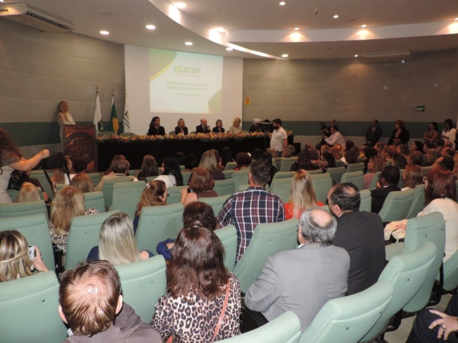 ACDF apresenta Conselho da Mulher Empresária - Bernadete Alves