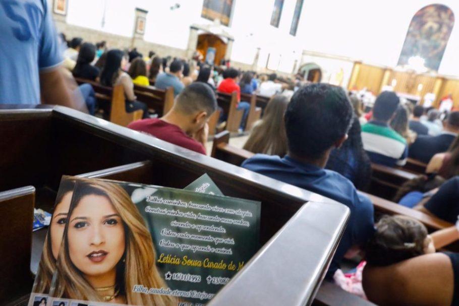 Letícia Curado, a advogada que teve a vida ceifada em crime bárbaro ganha Missa da Saudade - Bernadete Alves