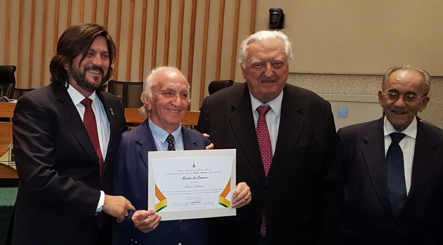 Instituto Histórico e Geográfico do DF é homenageado na CLDF - Bernadete Alves