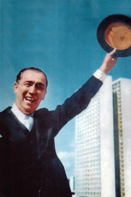 Presidente Juscelino Kubitschek Foto: Gervasio Batista.