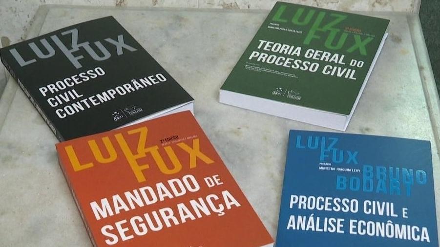 Ministro Luiz Fux lança livros sobre Processo Civil - Bernadete Alves