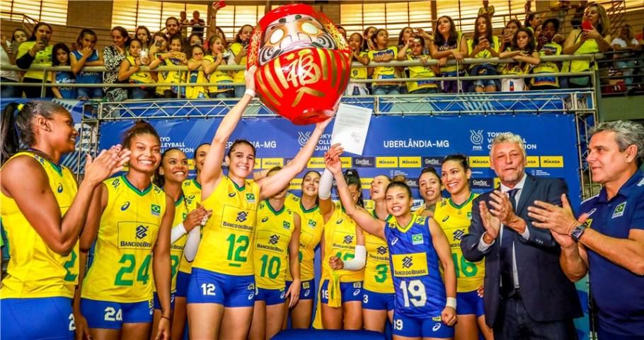 Seleção Feminina de Vôlei carimba passaporte para Tóquio - Bernadete Alves
