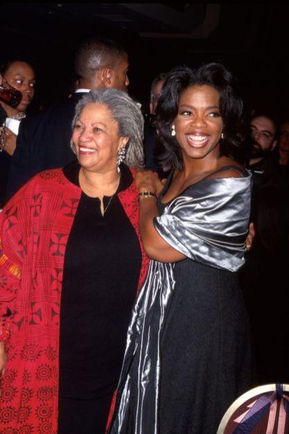 Toni Morrison com Michelle Obama