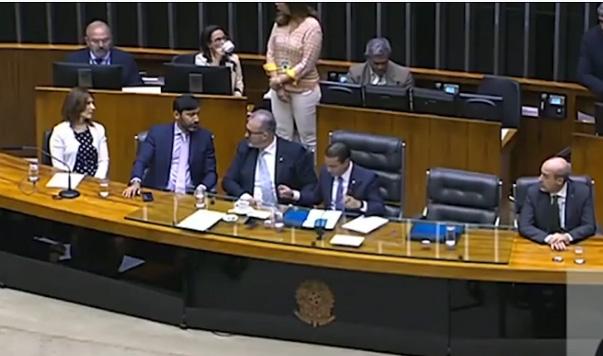Câmara dos Deputados celebra os 66 anos da Record TV - Bernadete Alves
