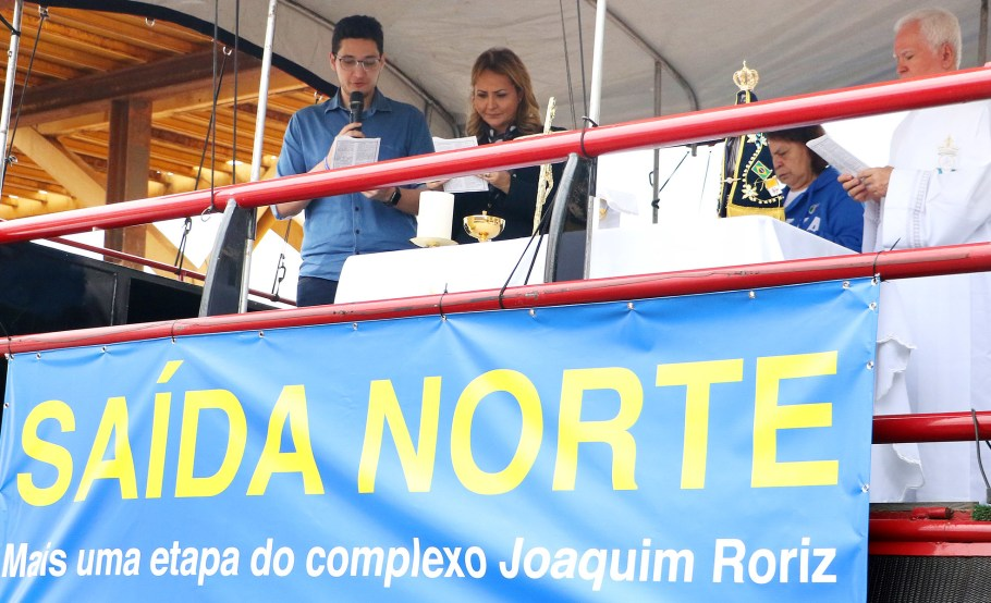 GDF entrega pista de Complexo Viário Saída Norte e homenageia Roriz  - Bernadete Alves
