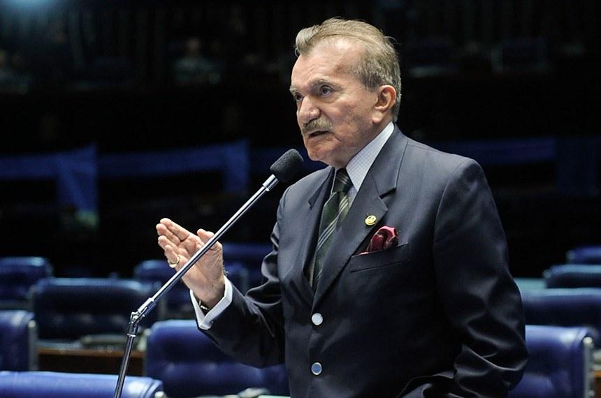 Morre em Brasília o ex-senador Odacir Soares - Bernadete Alves