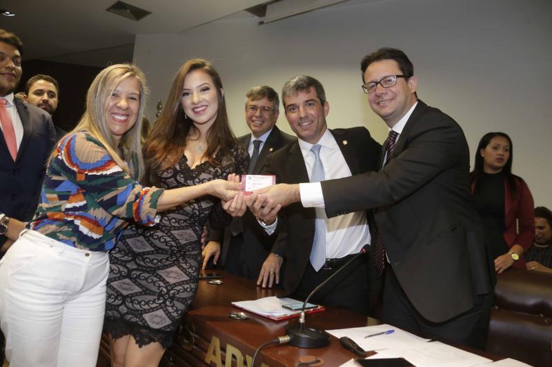 Presidente da OAB-DF pede compromisso e humildade aos novos advogados - Bernadete Alves