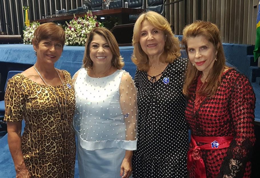 Senado homenageia professores com sessão solene - Bernadete Alves