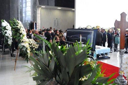 Velório de Gugu Liberato no Salão Monumental na Assembleia Legislativa de São Paulo