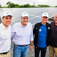PaulOOctávio inaugura usina de energia solar em São Sebastião