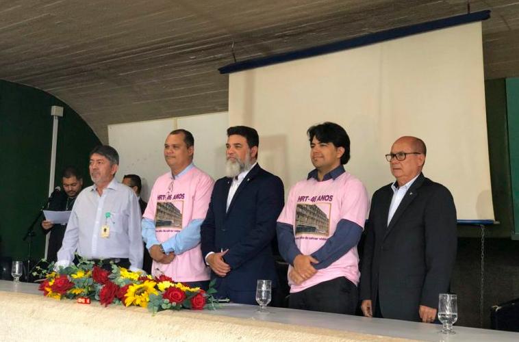 CLDF realiza Sessão Solene pelos 46 anos do HRT - Bernadete Alves
