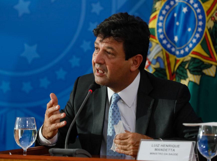 É êxito - Luiz Henrique Mandetta - Bernadete Alves