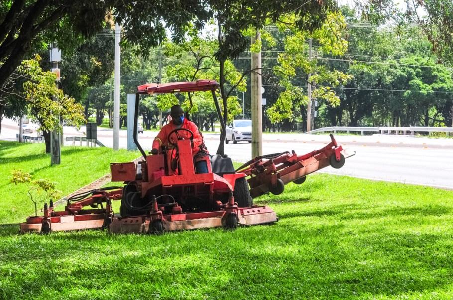 GDF prepara Brasília para o aniversário - Bernadete Alves