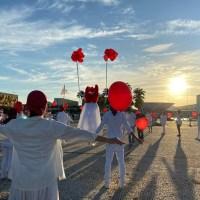 Artistas de Brasília fazem homenagem às vidas perdidas pela Covid-19