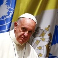 Papa diz na ONU que crise ambiental está ligada à crise social