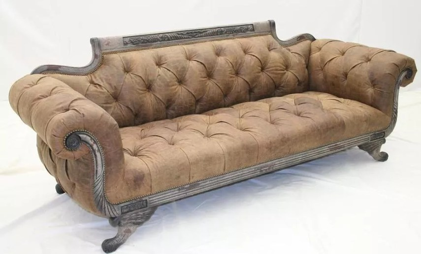 Tufted Sofa  all sides SOFA  COUCH   LOVESEAT Tufted Sofa  all sides